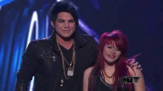 Adam Lambert & Allison Iraheta-American Idol Top 4 Slow Ride(HD)