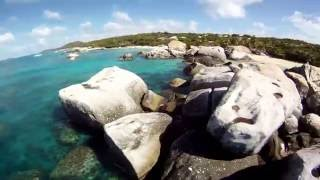 GoPro - The Baths - Virgin Gorda, BVI - Sailing Catamaran Charter