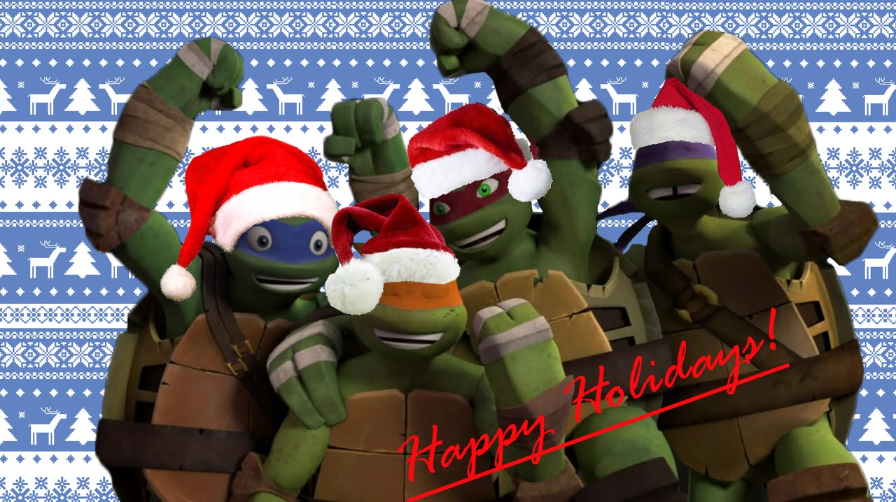 TMNT 2012 - Christmas Time - YouTube