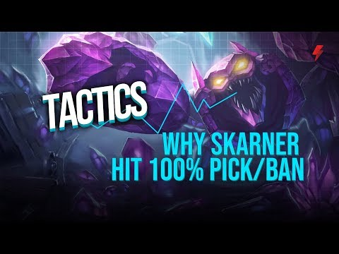 Why Skarner went from almost 0% pick/ban to 100%