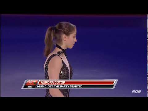 Aurora Cotop 2018 Canadian Tire National Skating Championships Gala (RDS)