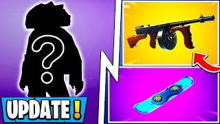 *NEW* Fortnite Update! | 7.41 Item, Drum Gun, 3 Secret Skins, Map!