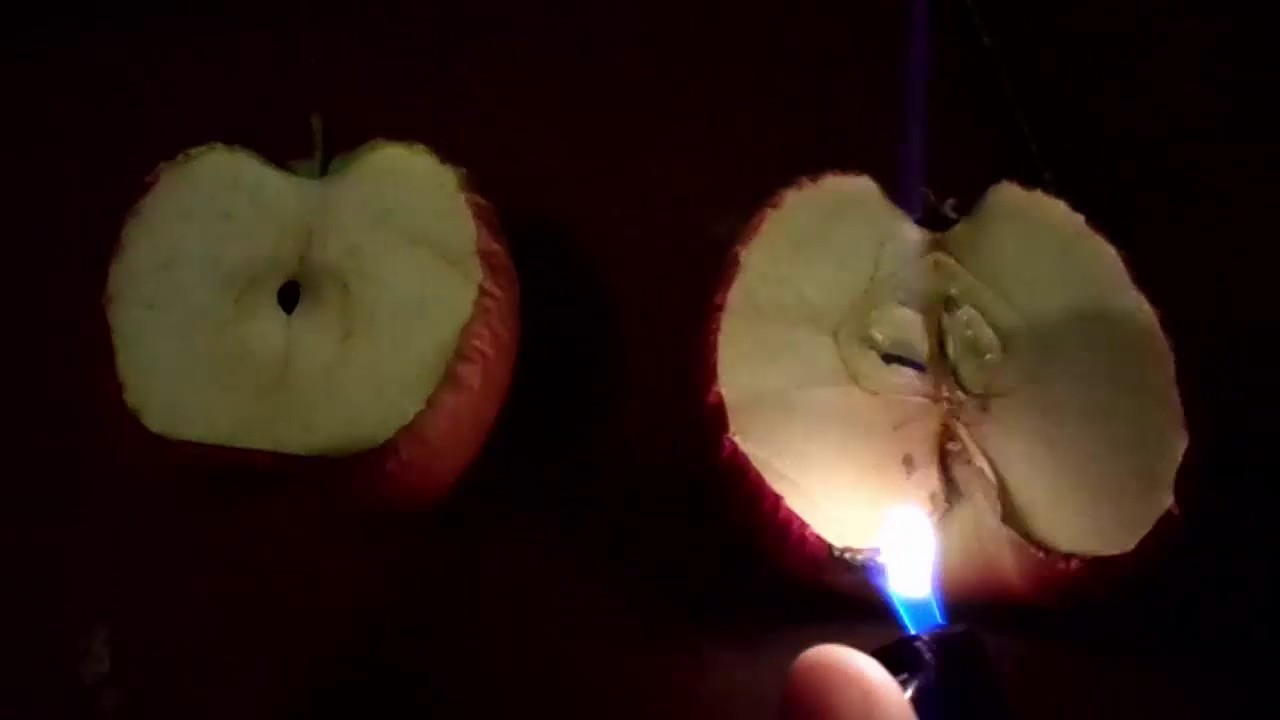 Youtube Feuerschale Anzünden Experiment: Apfel Anzünden - Youtube