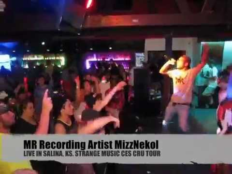 MIDRANGE MUSIC'S DEMOND JONES & MIZZNEKOL LIVE IN SALINA KS (CES CRU TOUR)