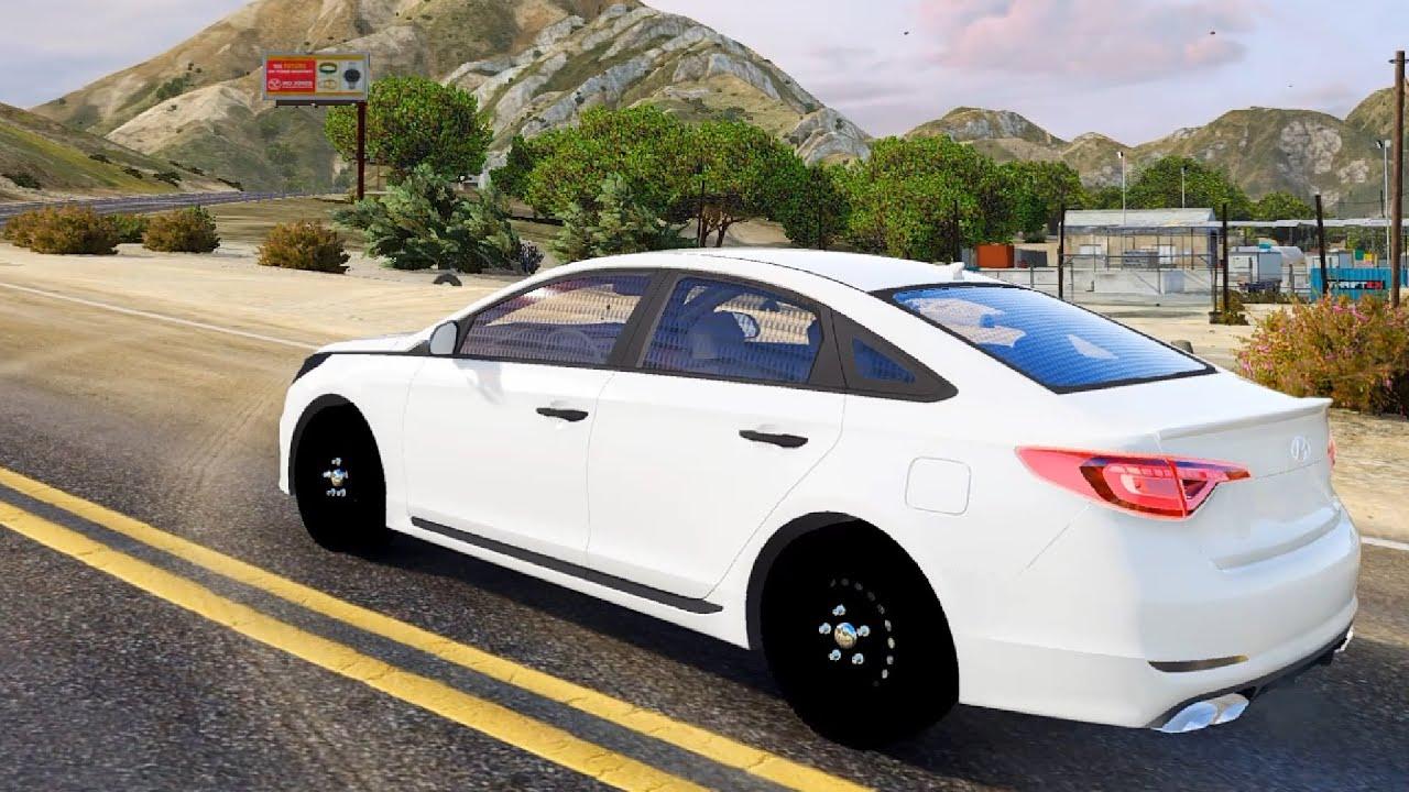 Hyundai Sonata 2016 Gta Mod Youtube