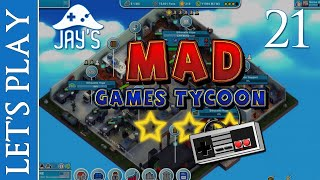[FR] Let's Play : Mad Games Tycoon - Jay's Industries - Épisode 21