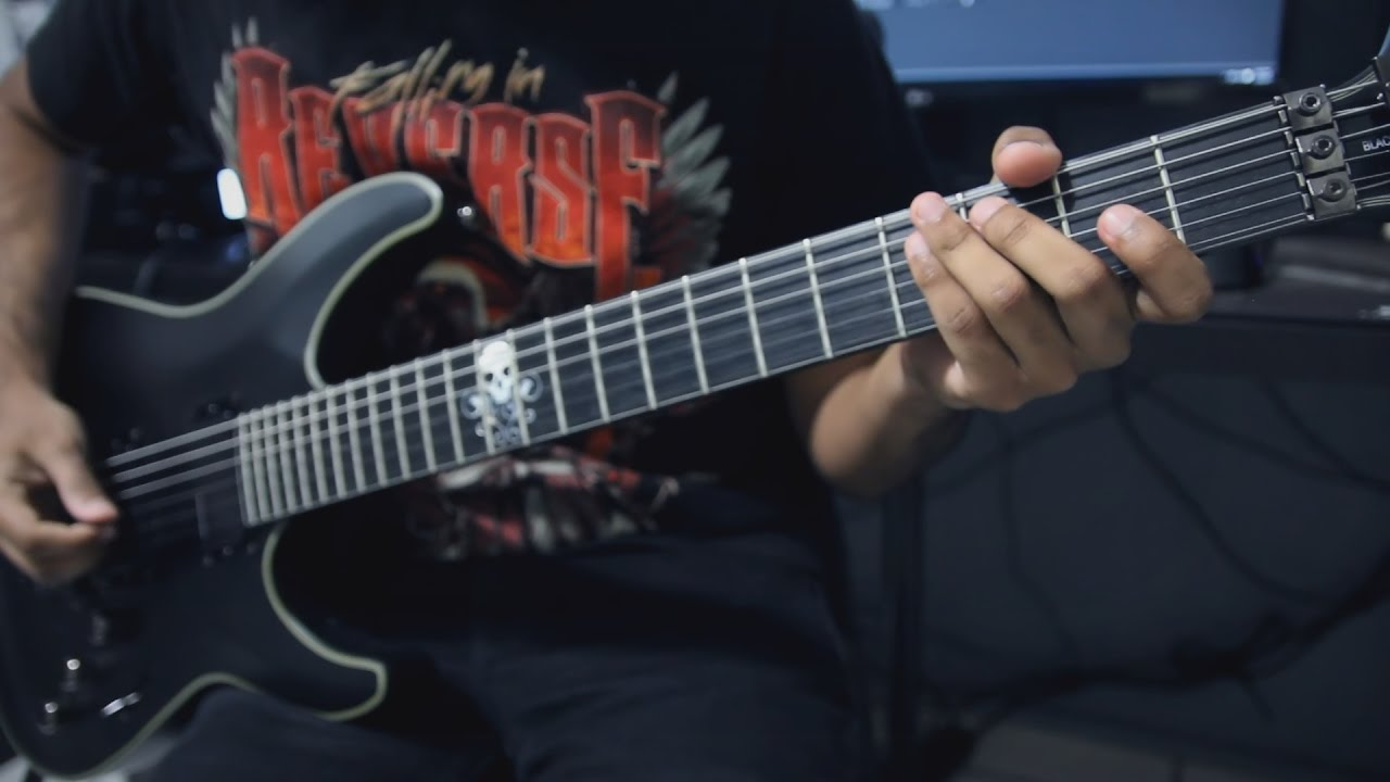 Falling In Reverse Loser Guitar Cover Tabs Youtube