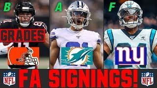 2020 NFL Free Agency Signings & Latest News | Grading NFL Free Agency Signings