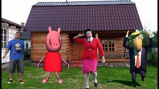 Scary Teacher 3D Peppa Pig  real life Dance
