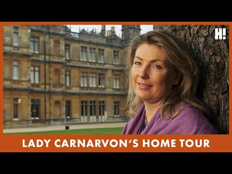 Exclusive: Lady Carnarvon invites HELLO! inside Downton Abbey and talks about the show's royal fans