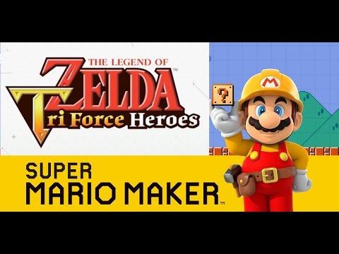Super Mario Maker Triforce Heroes Event Course