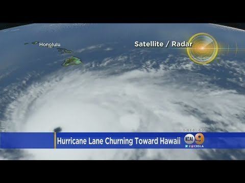 Hurricane Lane Churning Toward Hawaii