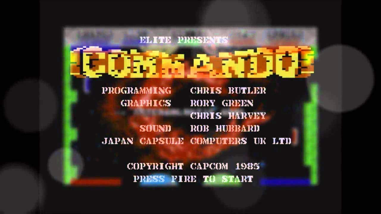 Top 10 Commodore 64 Games including Gameplay mp4