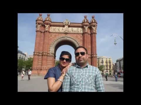 Deepak Chhabra Holidays in Spain