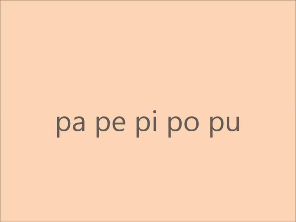 AEIOU Unang pagbasa sa Alpabetong PIlipino(first steps in reading Filipino)  Part 1