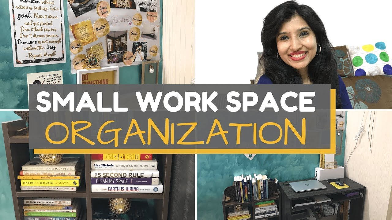 small work space desk organization home office india office