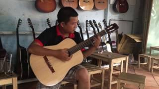 cả nhà thương nhau - hòa tấu - test guitar 850k - 0906391557