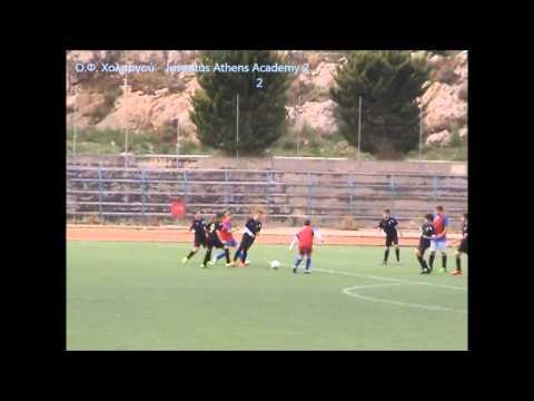 Ο.Φ. Χολαργού-Juventus Athens Academy (2)...2-2