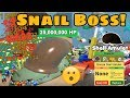 Defeat Snail Boss!! New Shell Amulet! Snail Boss VS Vicious Bee! - Bee Swarm Simulator