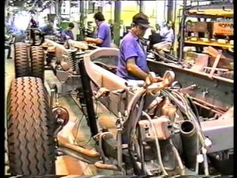 SCANIA FÁBRICA DE TUCUMÁN EN 1994. ARCHIVO AUTO AL DÍA.