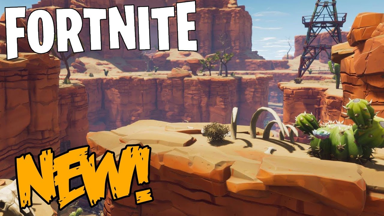 New desert biome coming to fortnite save the world new map new desert biome coming to fortnite save the world new map gumiabroncs Choice Image