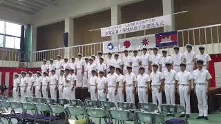 大島商船高専・商船学科卒業式「ごきげんよう」2018.09.20