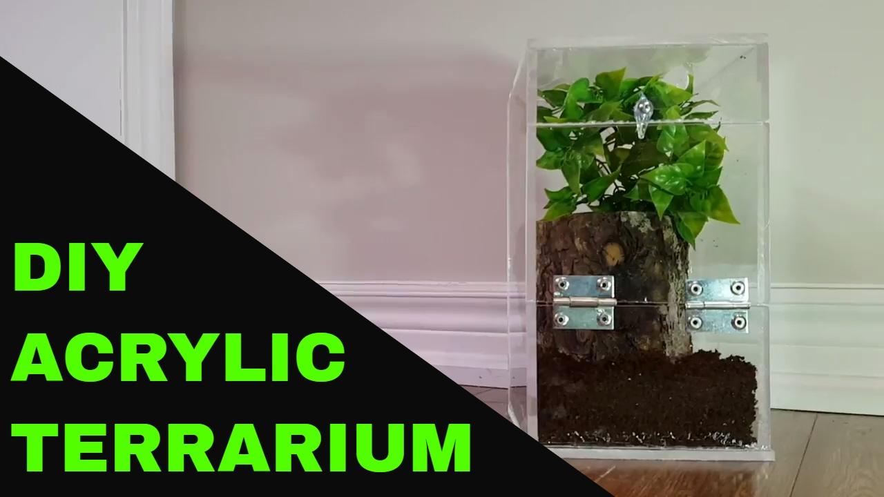 Acrylic Terrarium Diy Youtube