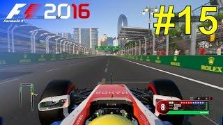 F1 2016 - Career Mode #15: European Grand Prix - Free Practice & Qualifying