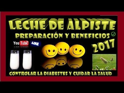 🍶✅▶ LECHE DE ALPISTE preparacion y beneficios 2017 ⛔ DIABETES 2017 ✅