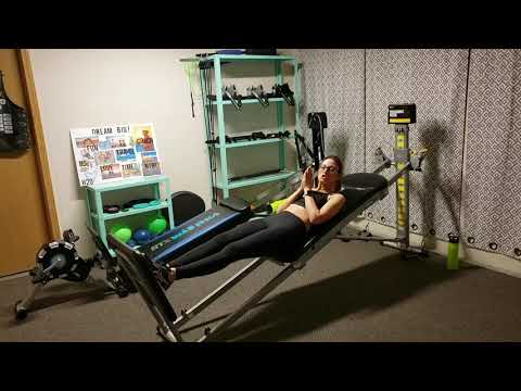 Total Gym Leg Workout With Cassandra