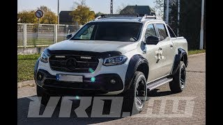 Mercedes X-Class - EXY Carbon - VR Off-Road Kft.