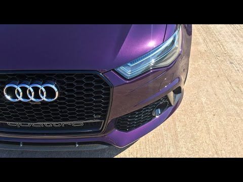 NEW CAR! Audi RS6 Performance Collection Day