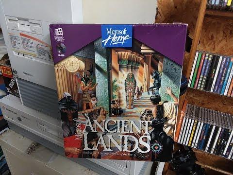 Vintage Unboxing: Microsoft Ancient Lands (1994)