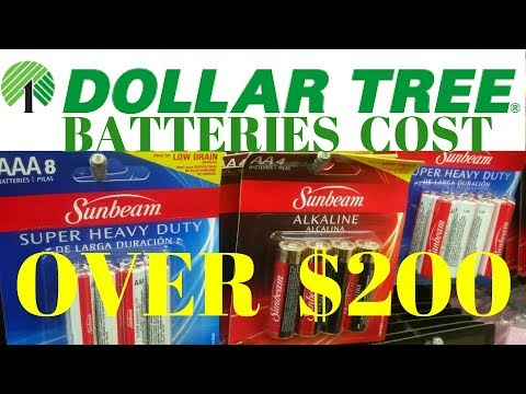 Worth It To Buy Dollar Tree Batteries? Dollar Tree Batteries Good? Recharge, Budget, Nimh Diy