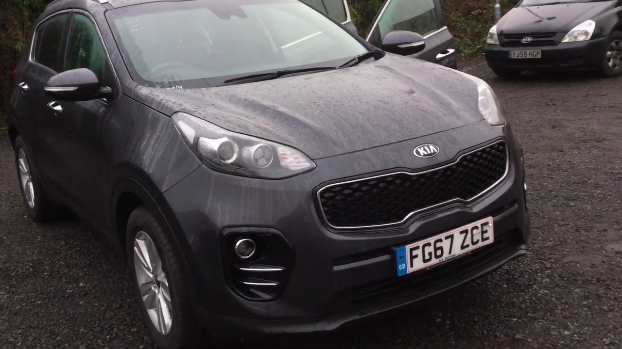 Kia Used Cars >> Kia Sportage 2 Auto Walkaround Clarks Of Kidderminster 1000