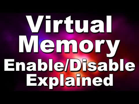 Should You Disable Enable Move Increase Decrease Ign Computer Virtual Memory Windows Pag