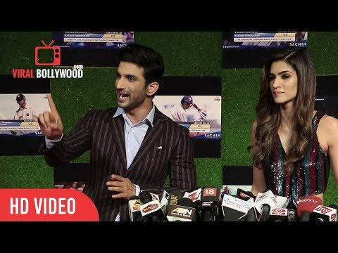 Thumbnail: Sushant Singh and Kriti Sanon Reaction on Magadheera Makers File Case Against Raabta Movie