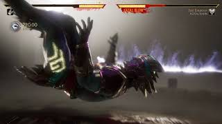 Mortal Kombat 11 Sindel vs Kotal Kahn