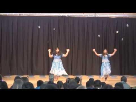 Churchill Middle school talent show 2014 Krishna and Ganga