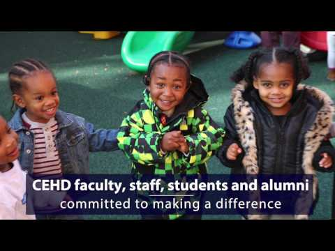 Click to play video CEHD 2016: Making a Difference