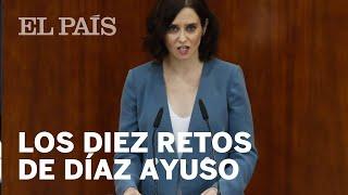 DÍAZ AYUSO | Los 10 retos que plantea la candidata a la presidencia de la Comunidad de Madrid