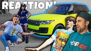 ROOMMATES REACT to MY CRAZY NEW CAR! Guess who HATES it...