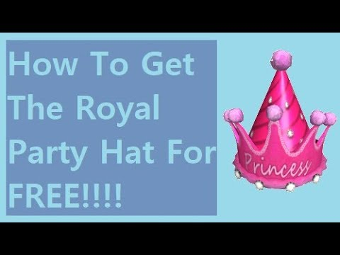 Green Princess Party Hat Roblox How To Get The Royal Party Hat For Free Roblox Pizza Party Event 2019 Youtube