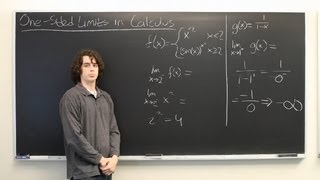 One-Sided Limits in Calculus : Calculus Explained