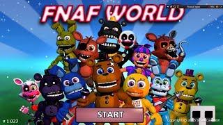 FNAFW (FNAF WORLD) прохождение игры (BONUS) МОЙ ПРОШЛЫЙ АККАУНТ! ОБОЗРЕВАНИЕ МОЕГО 1 АКК