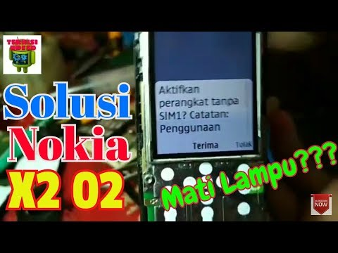 Nokia x2-01 pengisian daya tidak didukung.