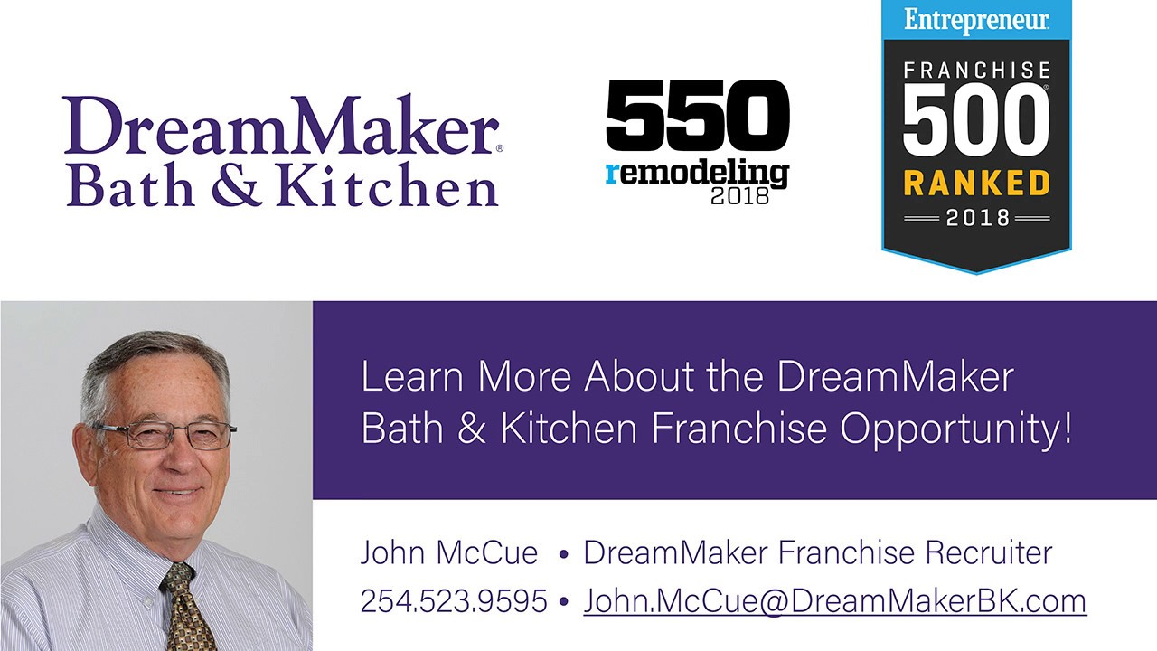 Remodeling Franchise Opportunity See Why Dreammaker Is Growing