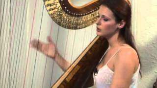 Playing a Harp: Open Palm Technique