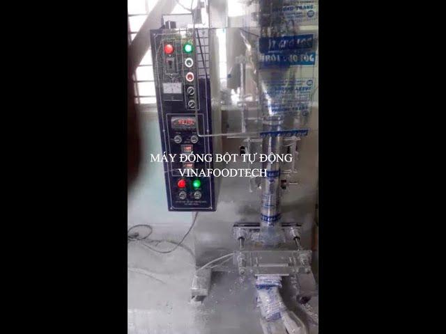 Máy đóng gói bột Vinafoodtech dùng vít tải - Tăng năng suất giảm giá thành, nâng tầm thương hiệu