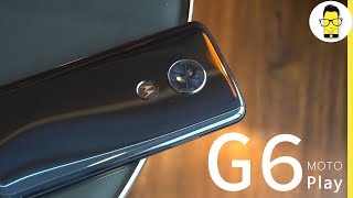 Moto G6 Play unboxing and first look